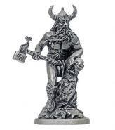Тор, бог грома и бури 40мм (олово)