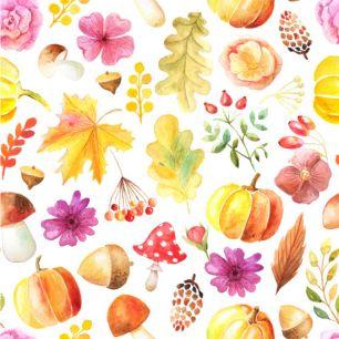Хлопок Перкаль Осенний урожай 50х37