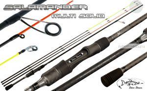Спиннинг Silver Stream Salamander Multi Solid SMS8022 2,40 м / тест 1-11 гр/5-21 гр/7-42 гр