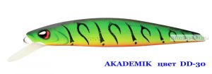 Воблер Silver Stream Akademik 74SP 75 мм / 4,9 гр / Заглубление: 0,7 - 1,1 м / цвет: DD-30