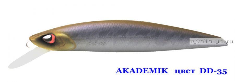 Воблер Silver Stream Akademik 74SP 75 мм / 4,9 гр / Заглубление: 0,7 - 1,1 м / цвет: DD-35