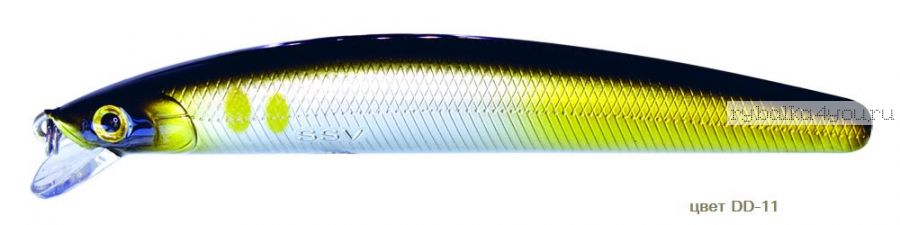 Воблер Silver Stream Anakonda 95F 95 мм / 8 гр / Заглубление: 0,4 - 0,6 м / цвет: DD-11