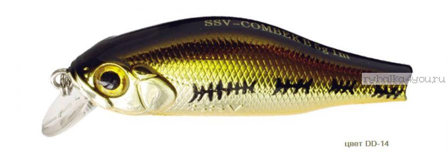 Воблер Silver Stream Combek B 50F 50 мм / 4 гр / Заглубление: 0,4 - 1 м / цвет: DD-14