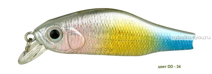 Воблер Silver Stream Combek B 50F 50 мм / 4 гр / Заглубление: 0,4 - 1 м / цвет: DD-34