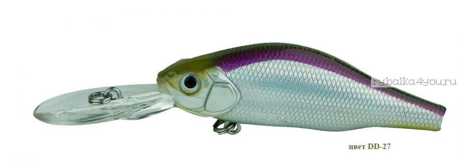 Воблер Silver Stream Instinct Pro 70SP 70 мм / 10 гр / Заглубление: 1 - 2 м / цвет: DD-27