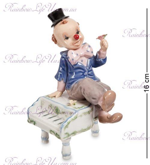 """Фигурка Клоун на рояле CMS-23/28 """"Pavone"""""""