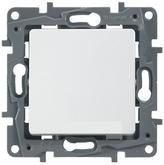 Переключатель проходной IP44 белый Legrand Etika