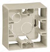Коробка наружная 1 пост - слоновая кость, Legrand Etika