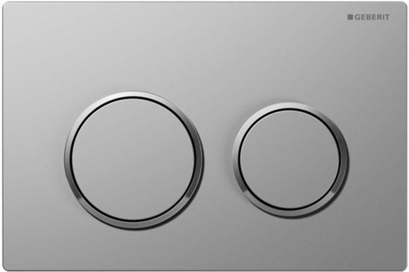 Кнопка смыва GEBERIT 115.085.KN.1 Omega 20 (матовый хром, глянцевый хром)