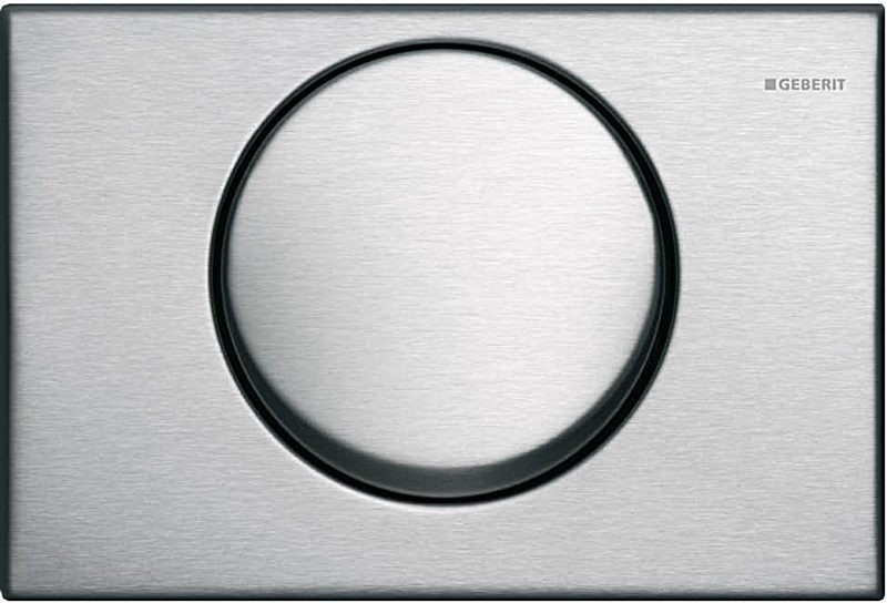 Кнопка смыва GEBERIT 115.751.00.1 Mambo (металл/сталь)