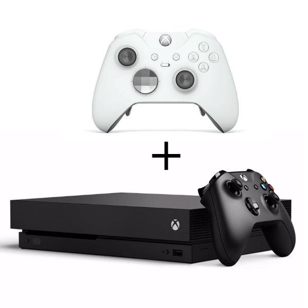 Игровая приставка Microsoft Xbox One X 1 ТБ + Elite Controller White