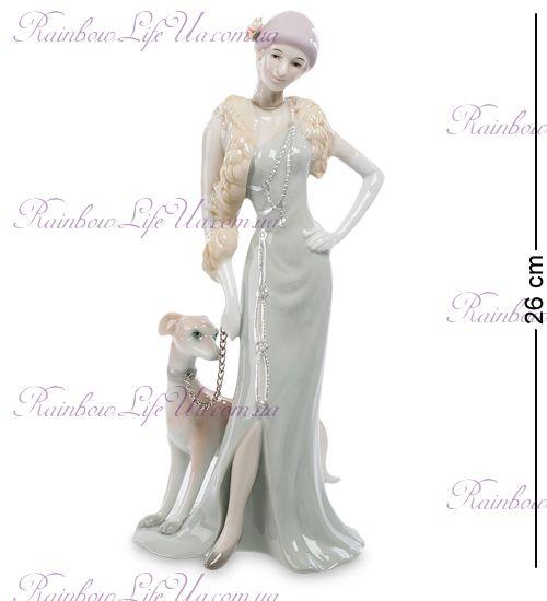 "Статуэтка Дама с собакой CMS-32/ 2 ""Pavone"""