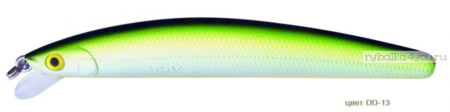 Воблер Silver Stream Anakonda 95S 95 мм / 9 гр / Заглубление: 0,6 - 1,2 м / цвет: DD-13