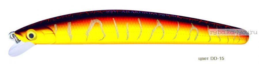 Воблер Silver Stream Anakonda 95F 95 мм / 8 гр / Заглубление: 0,4 - 0,6 м / цвет: DD-15