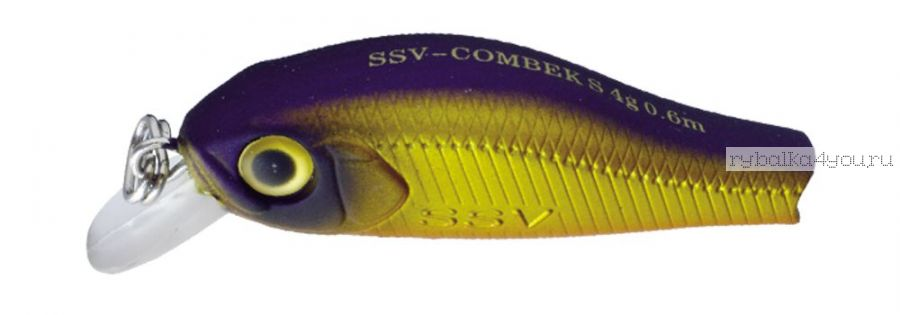 Воблер Silver Stream Combek S 35S 35 мм / 2 гр / Заглубление: 0,4 - 0,6 м / цвет: DD-17