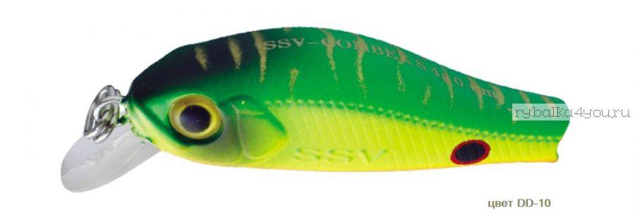 Воблер Silver Stream Combek S 35S 35 мм / 2 гр / Заглубление: 0,4 - 0,6 м / цвет: DD-10