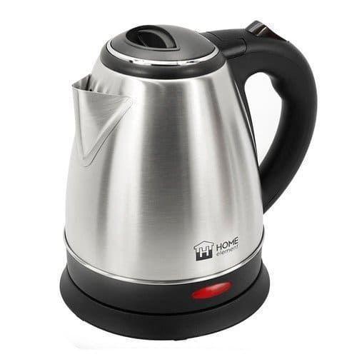 Чайник HOME ELEMENT HE-KT179 черный/сталь