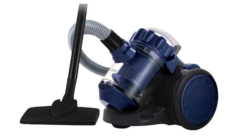 Пылесос LUMME LU-3209 черный/синий