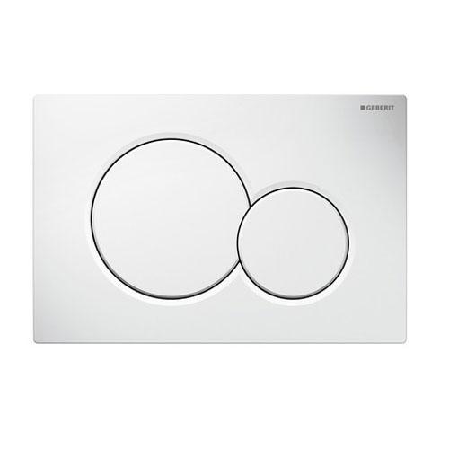Кнопка смыва GEBERIT 115.770.11.5 Sigma 01 (пластик/бел)