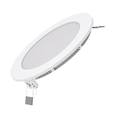 Светодиодный светильник ультратонкий квадратный IP20