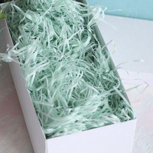 Наполнитель бумажный для коробок Мятный