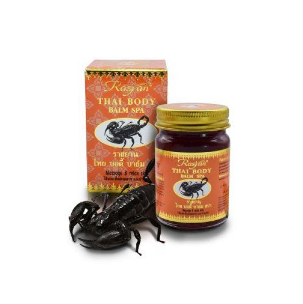 Тайский бальзам с ядом скорпиона Rasyan 50 гр