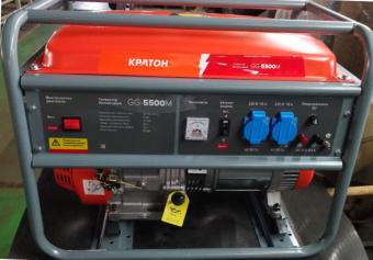Генератор бензиновый Кратон GG-5500M