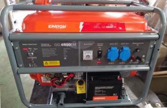 Генератор бензиновый Кратон GG-6500EM