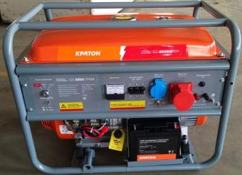 Генератор бензиновый Кратон GG-6500-3РEM