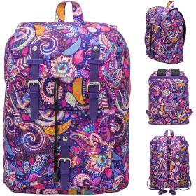 Рюкзак ACTION городской, размер 38х27х13 см, с принтом, мягкая уплотненная спинка, д/девочек