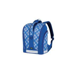 Ранец школьный LIFESTYLE, размер 36x29х19см, анатомич. спинка, синий, розовый