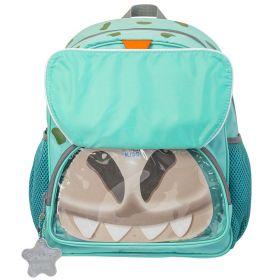 Рюкзак детский JUMBO COMPACT MINI, разм.33.5х30х19 см, анат.спинка, зел. для мал.
