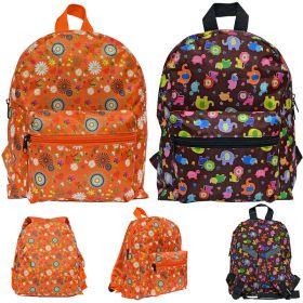 Рюкзак детский, с принтом, 2 дизайна, размер 30х24х10 см