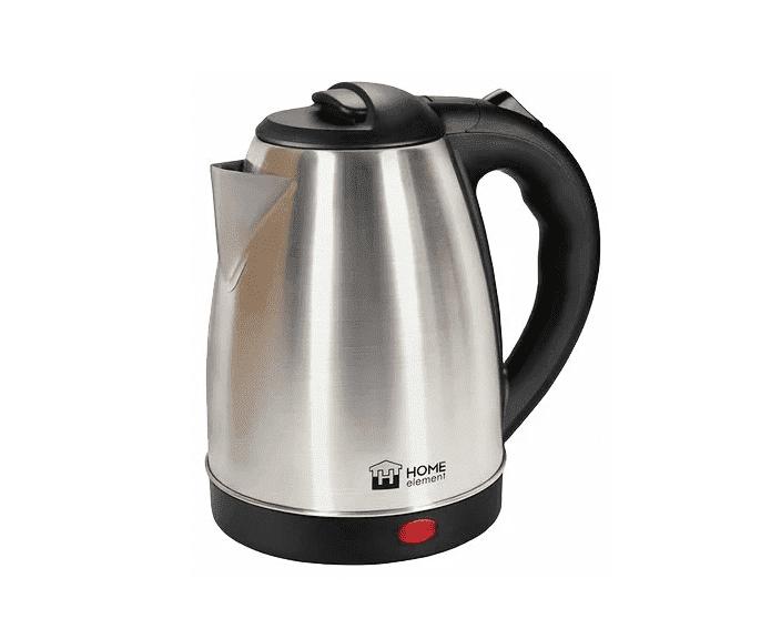 Чайник HOME ELEMENT HE-KT161 черный/сталь