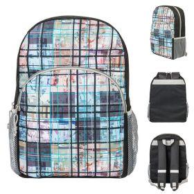 Рюкзак ACTION, разм. 39х28х13 см, с принтом, мягкая спинка, световозвращ. полоски,унисекс