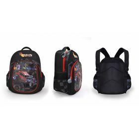 Рюкзак ACTION FASHION, мягкая спинка,разм.41х30х14 см, черный