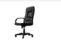Кресло OFFICE-LAB КР01 / ЭКО1 Черное