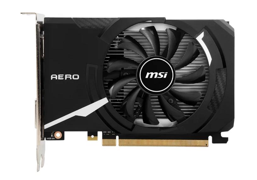 Видеокарта MSI nVidia GeForce GT 1030 (GT1030AEROITX2GD4OC)