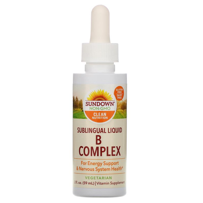 Сублингвальный комплекс витаминов В с витамином В-12, 59 мл