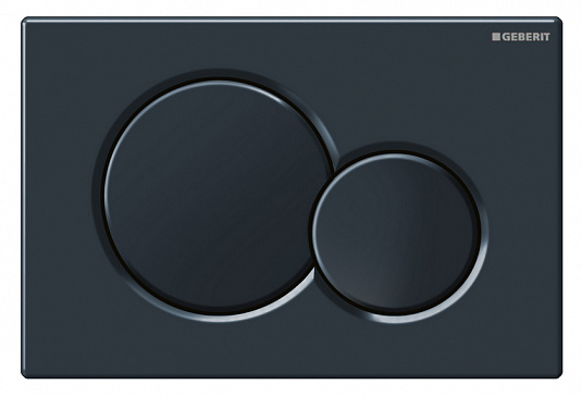 Кнопка смыва GEBERIT 115.770.DW.5 Sigma 01 (пластик/черн)
