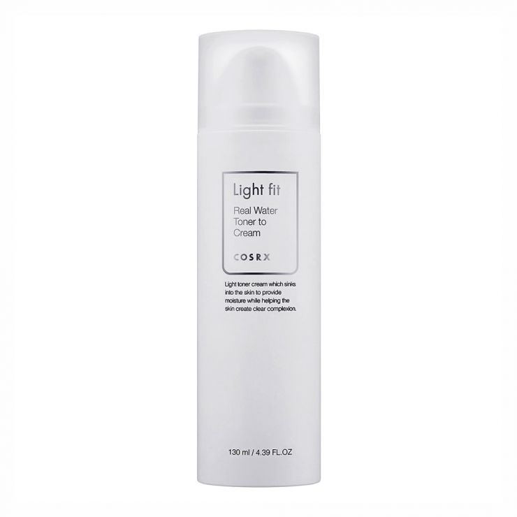 CosRX Лёгкий увлажняющий тонер-крем Light Fit Real Water Toner to Cream, 130 мл