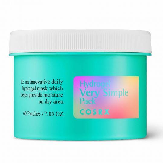 CosRX Многофункциональные гидрогелевые патчи для глубокого увлажнения кожи Hydrogel Very Simple Pack, 60 шт