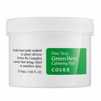 CosRX Успокаивающие пэды для чувствительной кожи One Step Green Hero Calming Pad, 70 шт
