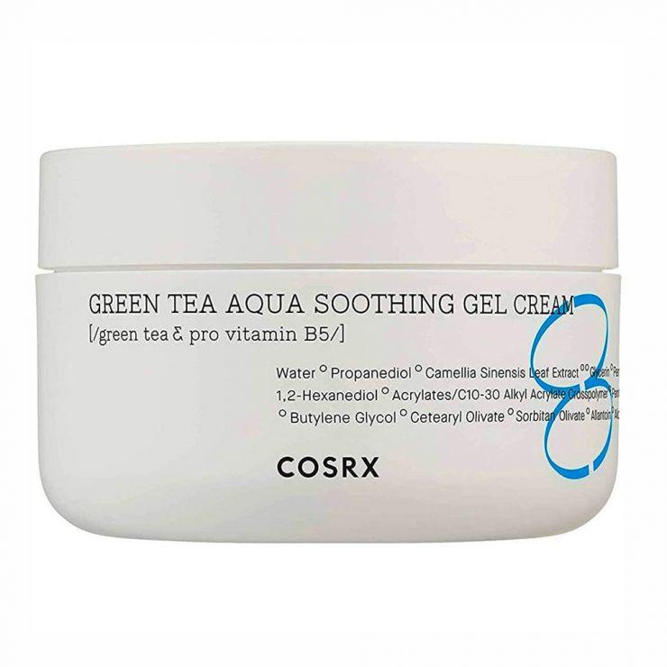 CosRX Успокаивающий гель-крем с зелёным чаем Green Tea Aqua Soothing Gel Cream, 50 мл