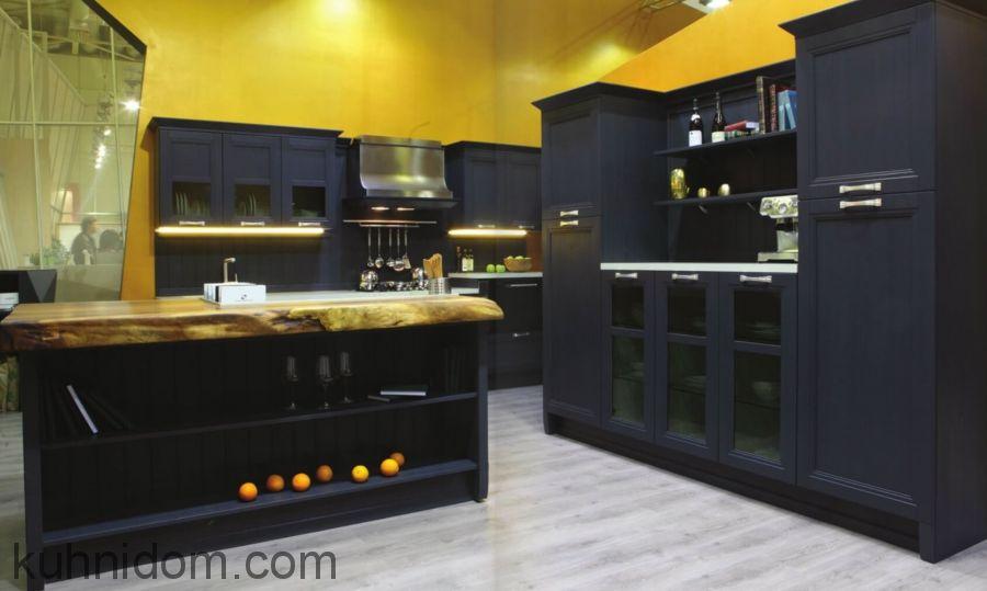 Кухня Манчестер Серый Жемчуг с буфетом