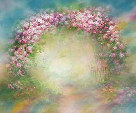 "Фон стена ""Flowers №2"" 2х1.5м"