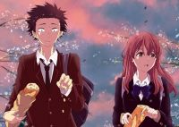 Плакат Koe no Katachi