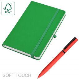 ежедневники с soft touch