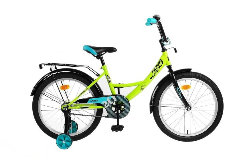 Детский велосипед Novatrack Vector 20 (2019) Салатовый (133951)