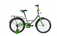 Детский велосипед Novatrack Vector 20 (2019) Серебристый (133952)